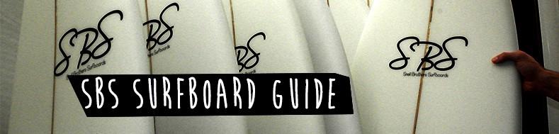 sbs surfboard guide